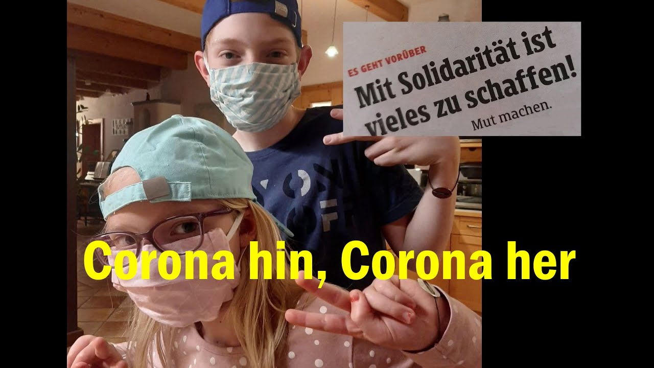 Youtube Video: Corona hin, Corona her