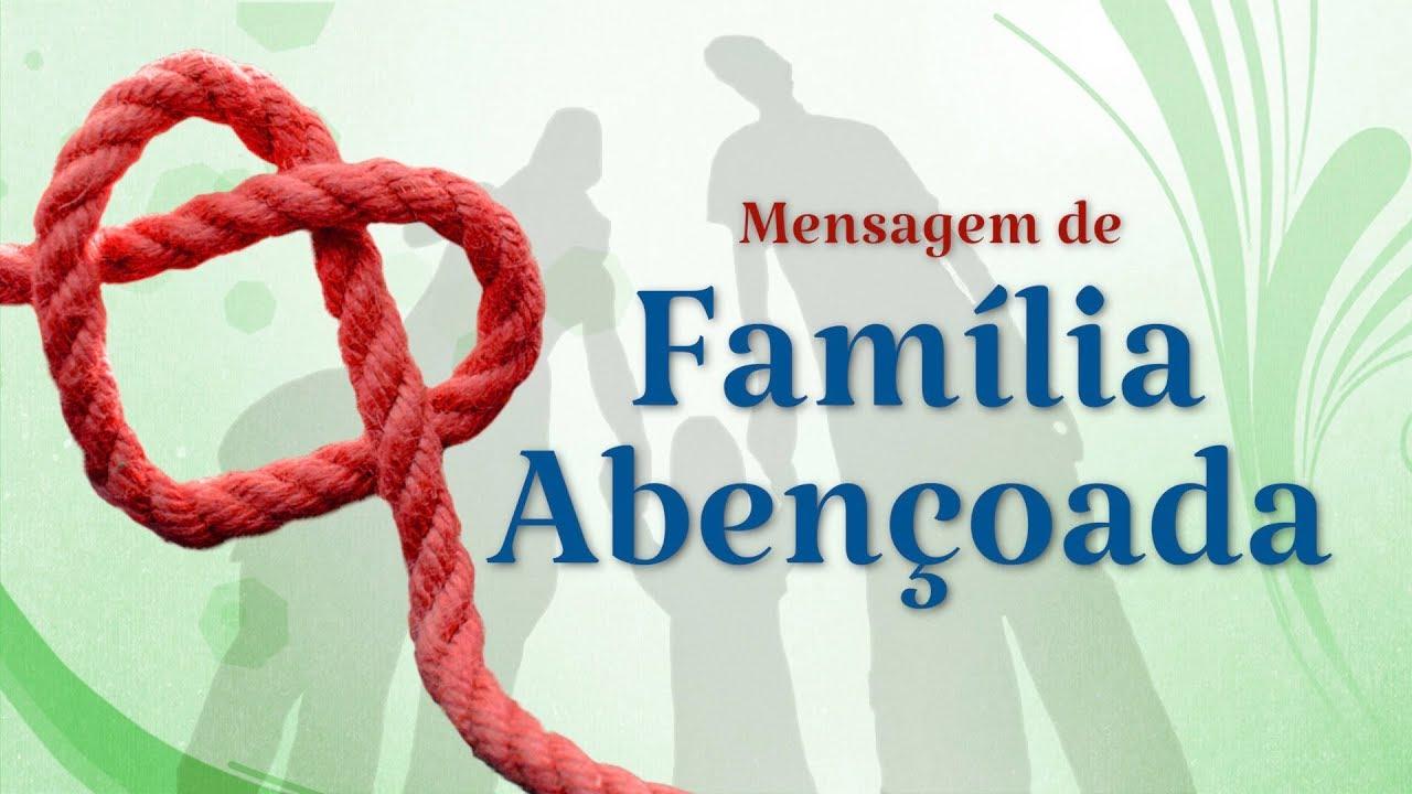 Mensagem De Proteção A Familia Ud95: Mensagem Para Família Abençoada