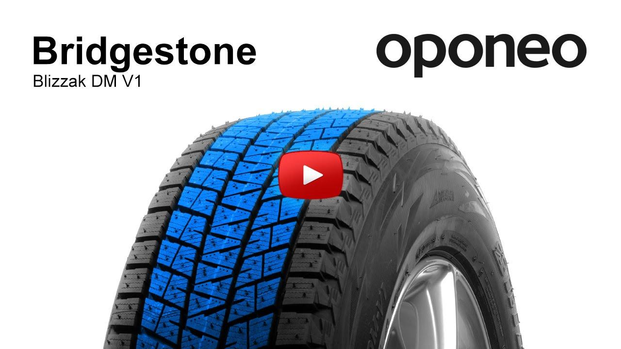 Bridgestone Blizzak DM V1 - YouTube