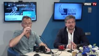 """Интс Далдерис и Алексей Лоскутов в программе """"Разворот"""" #MIXTV"""