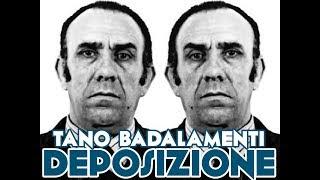 Tano Badalamenti: deposizione Processo per l'omicidio di Peppino Impastato