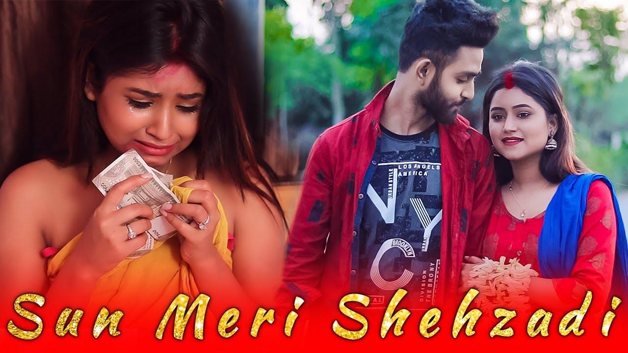 Sun Meri Shehzadi Main Tera Shehzada   Sweet Crush Love Story   Sad Songs   Saaton Janam Main Tere(360p)