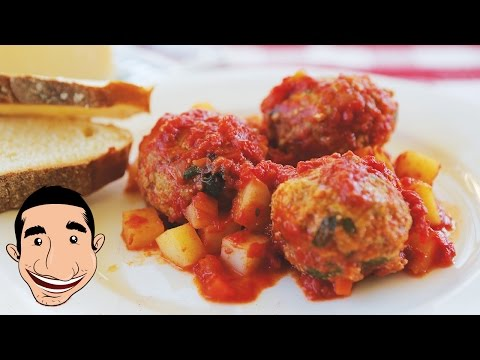 ITALIAN MEATBALLS RECIPE | How to Make the World BEST Meatballs EVER
