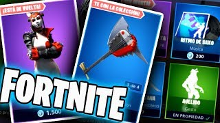 FORTNITE'S NEW STORE TODAY JULY 29 SKIN TAKARA WITH MOCHILA, PICO AND ALA DELTA