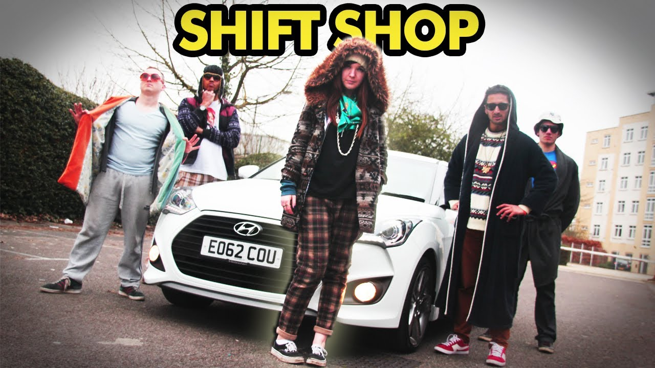 """Shift Shop"" - Macklemore & Ryan Lewis Thrift Shop Car Parody - Music Video"