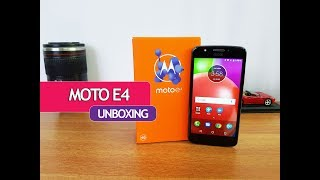 Moto E4 Unboxing (Indian Retail Unit), Hands on, Camera Samples and Software Features