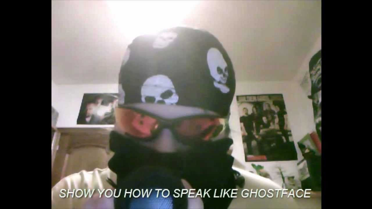 How To Ghostface Voice Like Scream Movie With Android And Sonic Vox Youtube