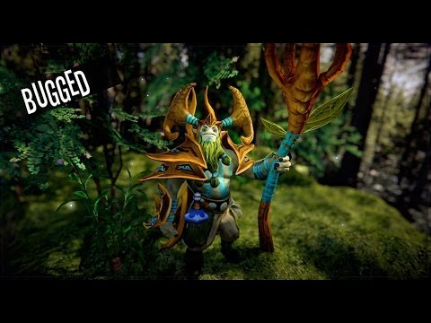 Dota 2 - Nature Prophet - Sovereign of the Woodlands Set (BUGGED)