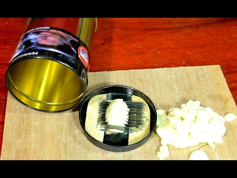 make a simple onion slicer with simple technology