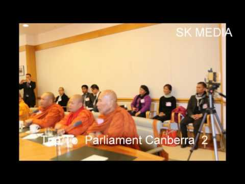 SK Media Report By Mr Korb Sao  Trip To Parliment Canberra 2