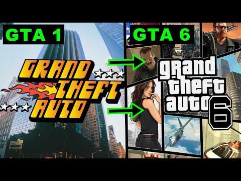 Evolution GTA Games 1997 - 2020 I GTA 6 I Grand Theft Auto 6