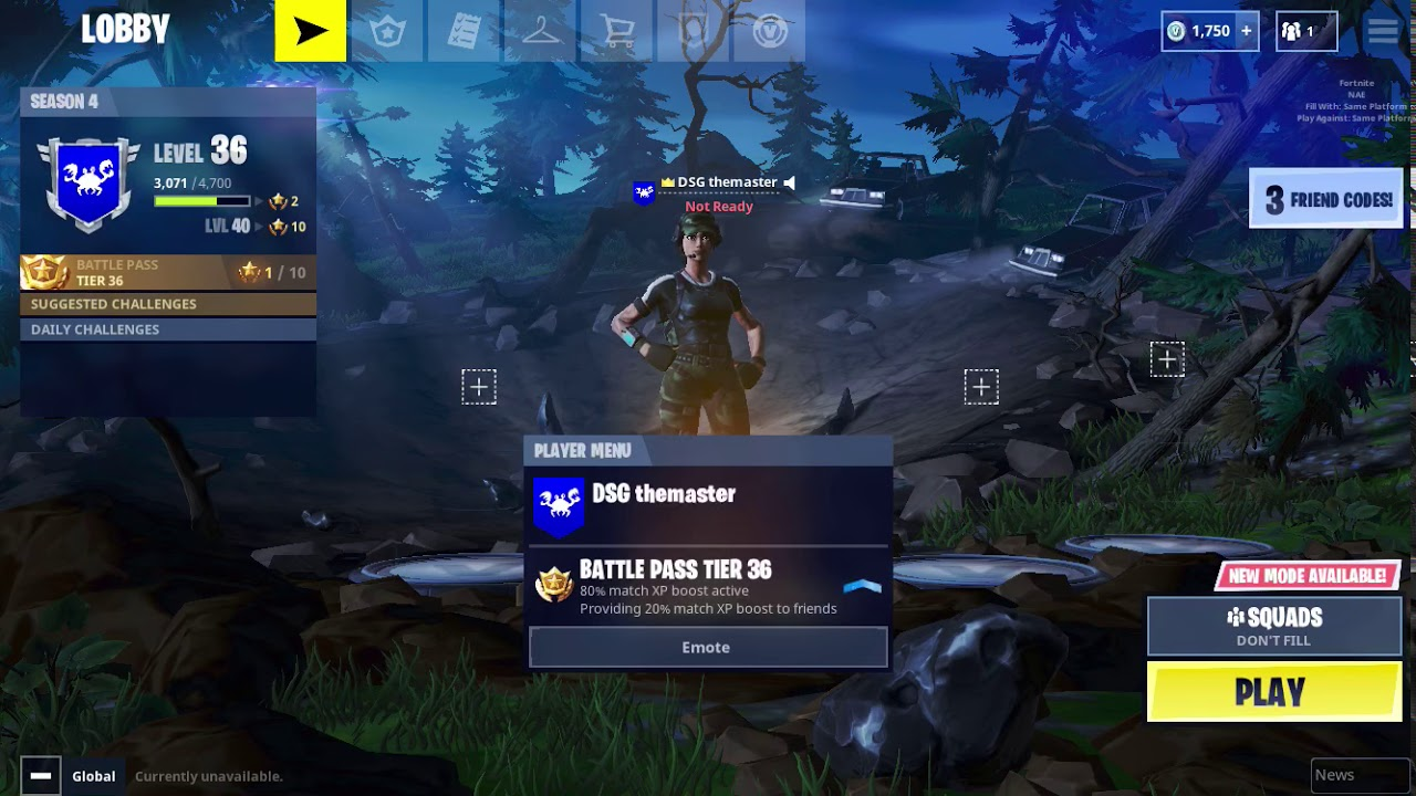 How To Check Your Fortnite Stats On Mobile Ios Youtube