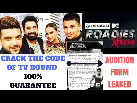 MTV Roadies Xtreme X6 Auditions - Master Guide & Tips for 100% Success