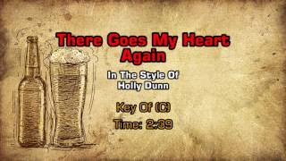 Holly Dunn - There Goes My Heart Again (Backing Track)