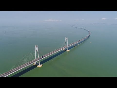 World's longest sea bridge: An innovative mega project