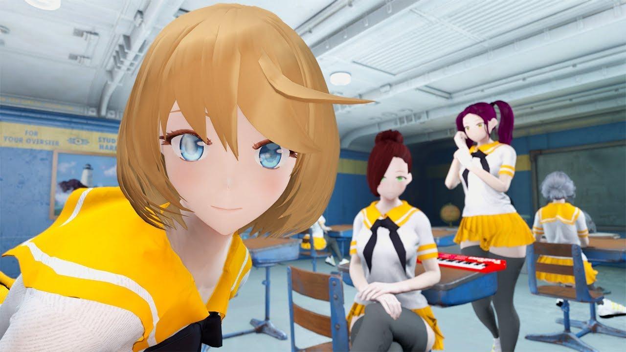 Must Have ANIME RACE MOD! Weeaboo Otaku Kawaii Desu Schoolgirls - Fallout 4 Mod Review Episode 146