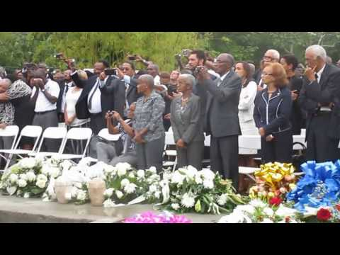 Haiti flash : funerailles de l'ex-president Rene Preval - Marmelade