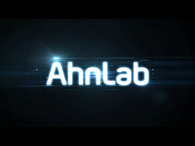 AhnLab Security Business Coaster