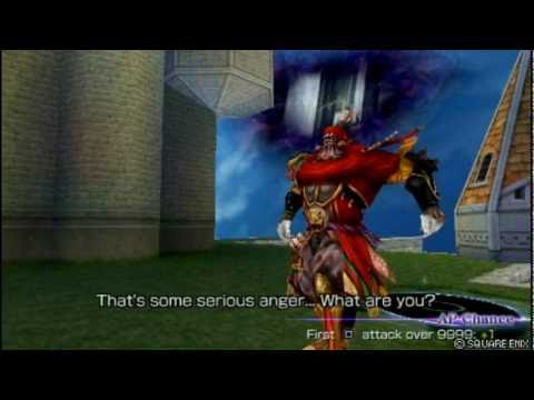 Dissidia 012: Duodecim Final Fantasy - vs. GILGAMESH Encounter Quotes