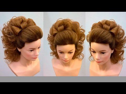 Урок идея экспресс прически на длинные волосы.