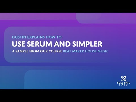 Using Serum and Simpler | Beat Maker House Music