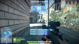 Battlefield 3 Sniper Montage PS3