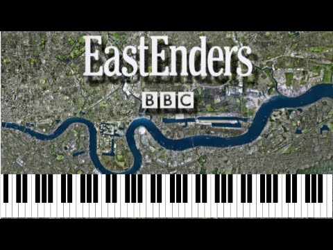 How To Play Eastenders Theme Tune Easy Keyboard Song Piano Tutorial With Note Names
