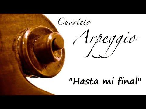 Música para bodas Asturias - Hasta mi final, Il Divo - Cuarteto Arpeggio en Directo