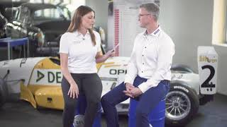 """Our host victoria met ralf schumacher and talks exclusively with him about motorsports his private life. what is behind statement """"take it or leave i..."""
