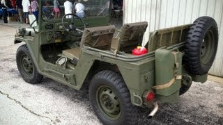 M151A2 MUTT Military Vehicle, Nicely Restored