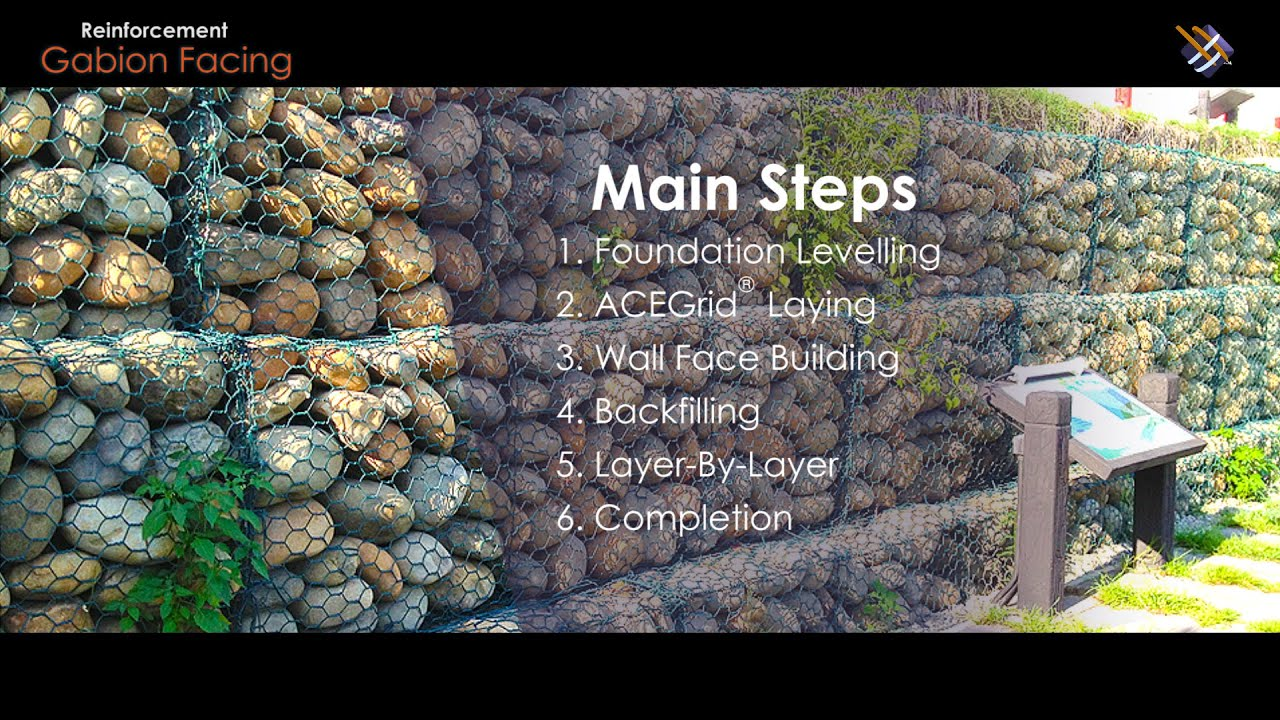Gabion structures: photo, device, application 37
