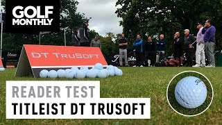 Titleist DT TruSoft Golf Ball - Reader Test
