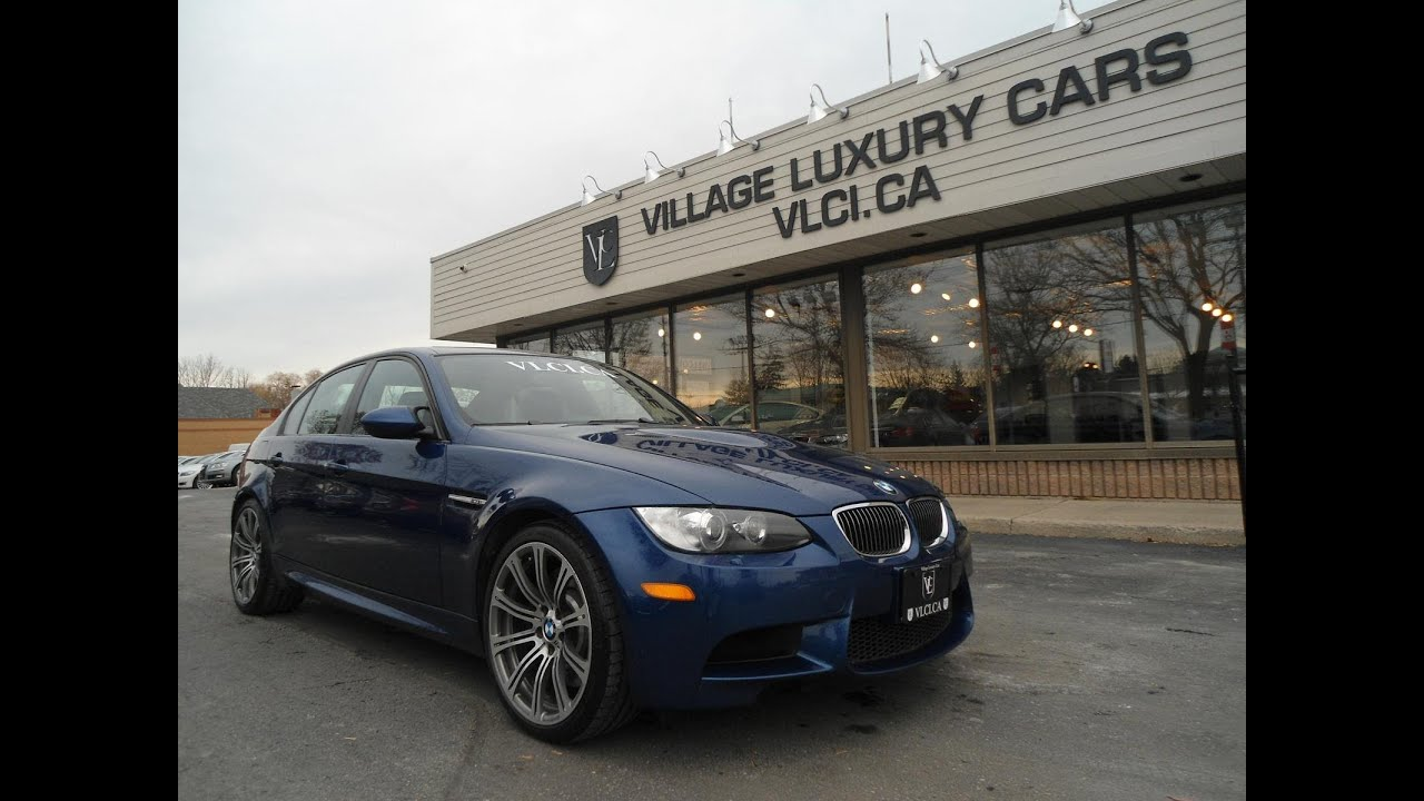 2009 BMW M3 [4-Door Sedan] in review - Village Luxury Cars Toronto ...