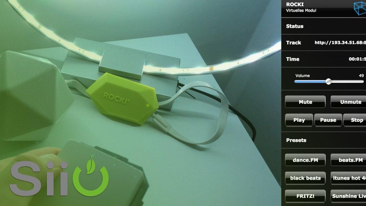 fibaro szenenaktivierung musik via lichtschalter steuern. Black Bedroom Furniture Sets. Home Design Ideas