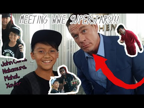 I MET JOHN CENA!!!(AND OTHER SUPERSTARS)|TRIP IN MISSION HILLS||WWE CHINA LIVE SHOW+$100 NIKE OUTLET