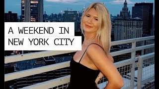 weekend in my life   NYC EDITION (apartment tour, shopping in soho, exploring)
