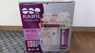 Фильтр для питьевой воды RAIFIL NOVO 5 обзор, отзыв