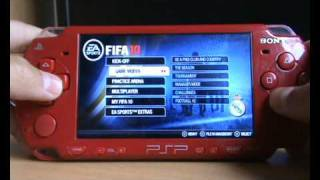 FIFA 2010 PSP: Gameplay & Solution for the error code (80020148) NEW|HD|