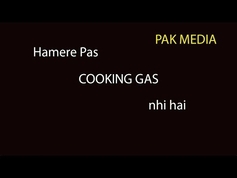 Here We do not have  Cooking gas  and India running their Rly on CNG gases!  Pakistani media