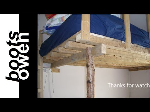 Pallet loft bed: how to