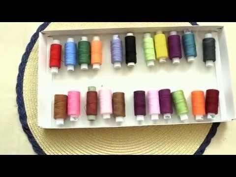 Шкатулка для ниток из коробки от конфет/ шкатулка для ниток своими руками