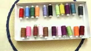 Шкатулка для ниток из коробки от конфет/ шкатулка для ниток своими руками(Если катушки с нитками хранятся в беспорядке, сделайте для них удобную шкатулку. Для этого отлично подойдет..., 2015-07-16T13:30:01.000Z)