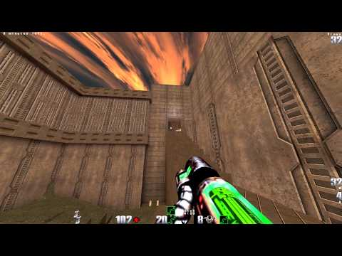 Quake2 Demos: Purri vs Dajna - The Edge Q2DM1 - May 2003 - Q2 1080p