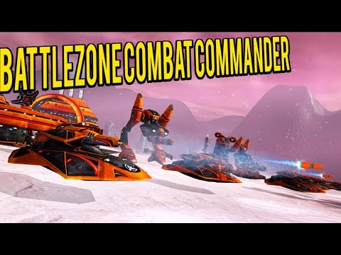 Battlezone Combat Commander - Base Building and Piloting Mechs FPS/RTS Fusion