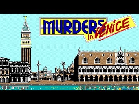 Murders In Venice Gameplay (PC Game, 1989)