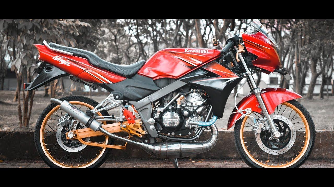 68 Foto Modifikasi Motor Ninja Ss Terbaru Teka Teki Motor