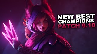 New Best Champions for Patch 9.10 Season 9 for Climbing in EVERY ROLE