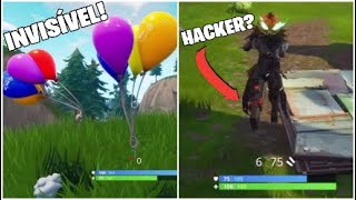 FORTNITE-GLITH/BUG OF STAYING INVISIBLE! (I TURNED THE CASPER)