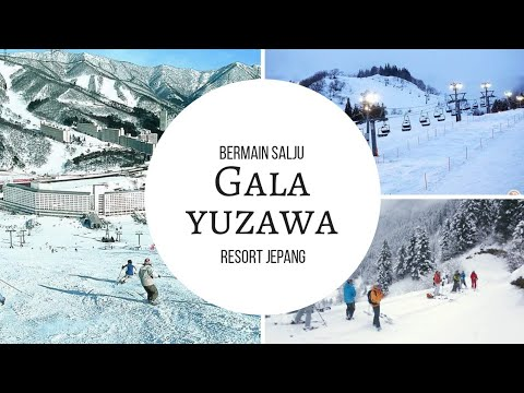 Asiknya bermain salju di Gala Yuzawa Resort Jepang