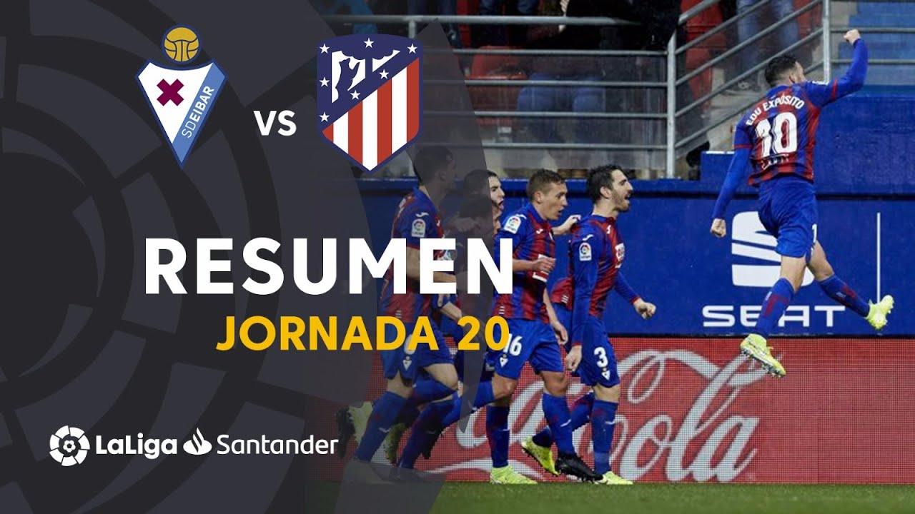 Эйбар  2-0  Атлетико видео